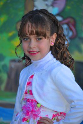 CANATLÁN, Dgo. (OEM).- Leydem Bustamante Ramírez, linda niña candidata a reina de la Escuela Primaria Gral. Lázaro Cárdenas.