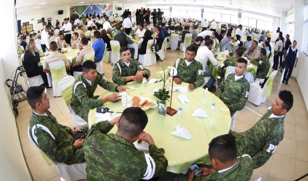 Conmemoran el 105 aniversario de la creación del Ejército Mexicano