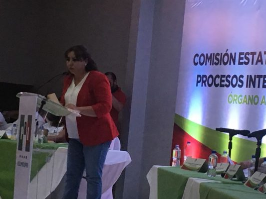 Priistas ratifican candidatura de Leticia Soto al Distrito 12 local