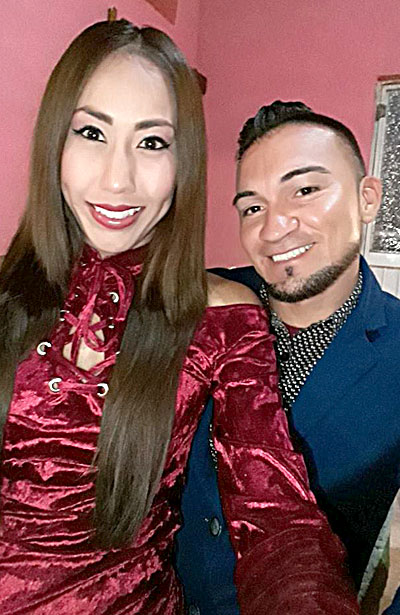 CUENCAMÉ, Dgo. (OEM).- Ociel Cuevas Vázquez y Jennifer Rodríguez Arenas.