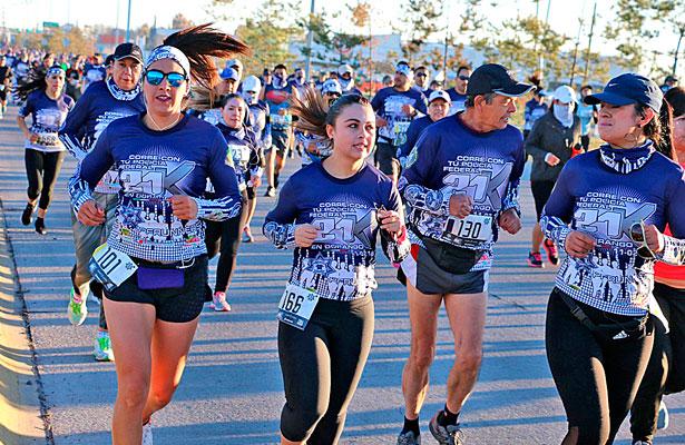 Un éxito medio maratón de la PFC