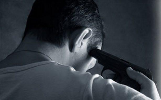 Depresión lo llevó a dispararse en la cabeza
