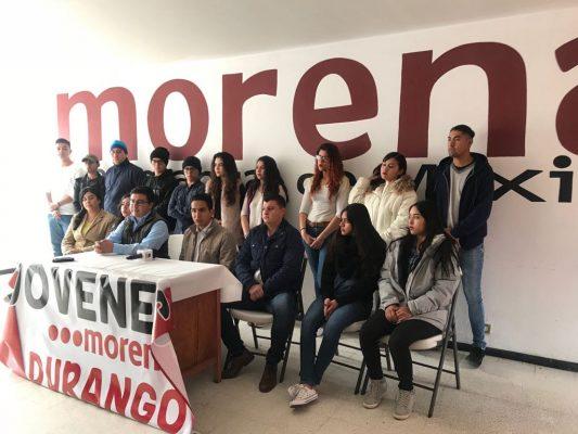 Presenta MORENA a jóvenes militantes