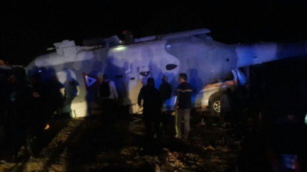 Se desploma helicóptero donde viajaba Navarrete Prida