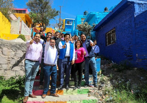 Más de 50 familias beneficiadas al pintar las fachadas de sus casas