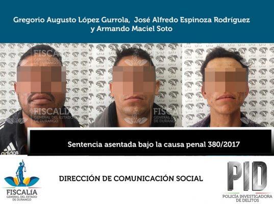 Sentencian a 33 años de prisión a secuestradores de estudiante