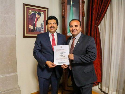 Designa alcalde nuevo director de SeguridadPública
