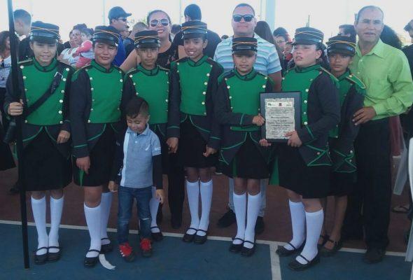 Destaca escuela de Poanas en concurso nacional de escoltas