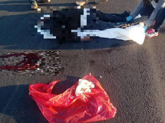 Muere septuagenario al ser arrollado por auto fantasma