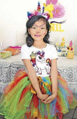 Abril Carrasco Montalvo festejó sus 9 años