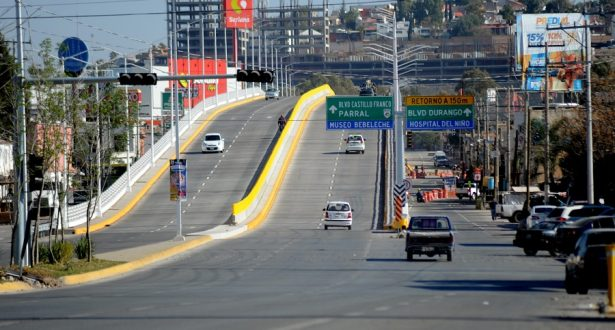 Anuncian puente vehicularen el bulevar Fco. Villa