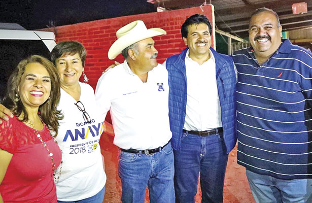 Panistas de Ocampo apoyan a Enríquez