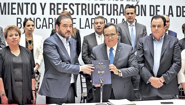Recibe Congreso informe de la Reestructuración de la Deuda Pública del Estado