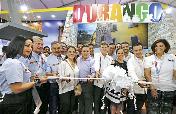 Inauguran stand Durango en Tianguis Turístico