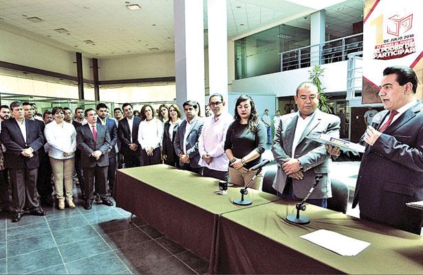 Se registran candidatos del PRI a diputados locales