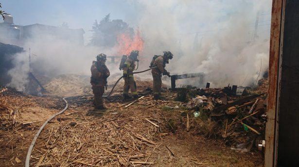 Hasta 85 incendios en lotes baldíos de Lerdo