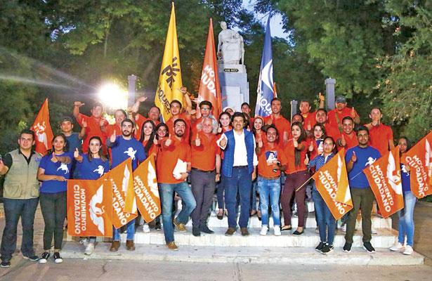'Vamos a ganar', es el grito de los jóvenes en movimiento de Lerdo