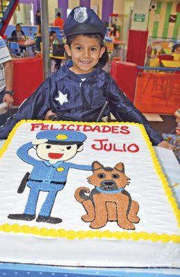 Julio César cumplió 6 años