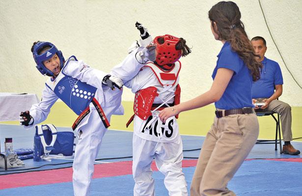 TKD, da 36 boletos a la Olimpiada Nacional