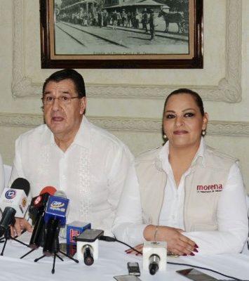 Bajan a Nancy Vázquez de candidatura al Senado