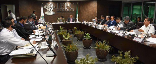 Aprueba IEPC registros de candidatos a diputaciones