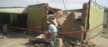 Se cae techo de casa en Gómez Palacio