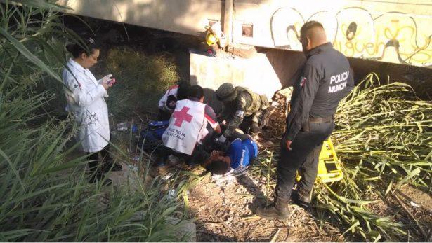Indocumentado es arrollado por el tren en G.P.