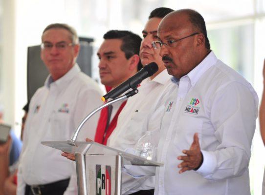 Estamos pisándole los talones al puntero: presidente nacional del PRI