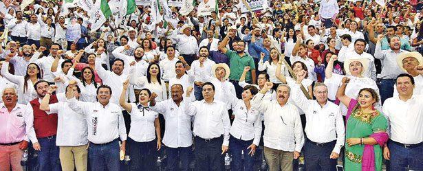 El PRI no es culpable de la corrupción, son las personas: René Juárez