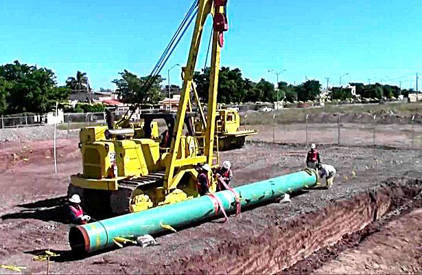 Confía Aispuro Torressolucionar obras degasoducto y Chemours