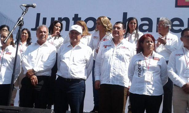 Cierre de campaña de AMLO en Durango