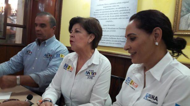 Ricardo Anaya el único que puede alcanzar a AMLO: Cecilia Romero