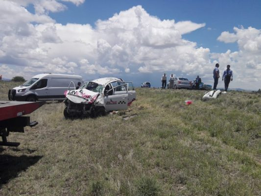 Se registra un deceso en accidente carretero