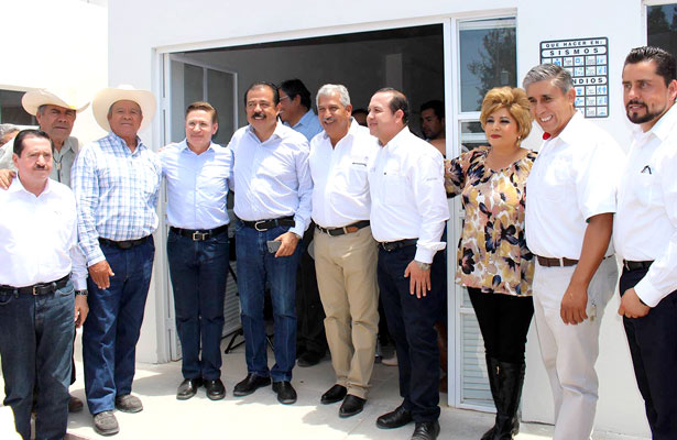 Lista, primera etapa de albergue comunitariode Canatlán