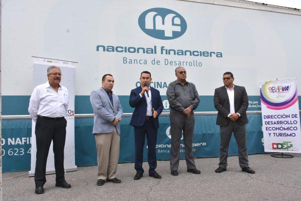 Módulo Nafinsan ofrecerá opciones a emprendedores