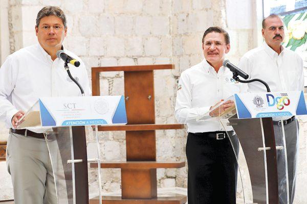 Paso provisional en la libre a Mazatlán, en 48 horas: Aispuro