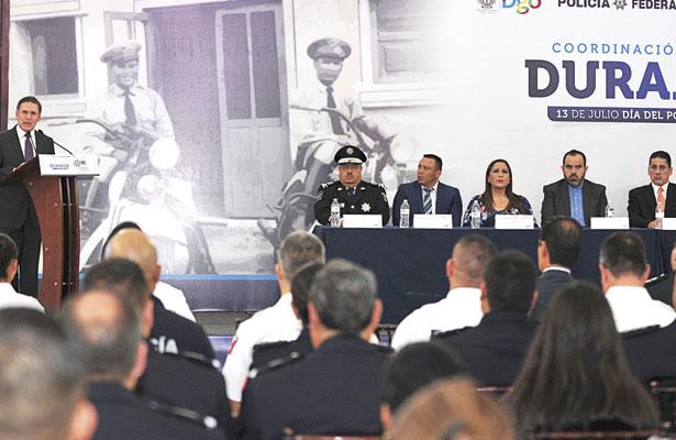 Policía Federalda tranquilidada Durango: AT