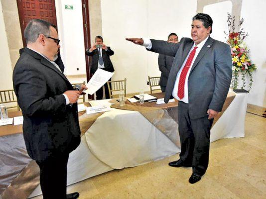 Felipe Coria es el nuevo presidente del CPCSLA