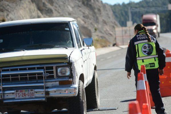 Asegura PF 5 kilos de metanfetaminas en camión de carga