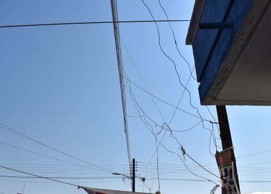 Puestos de feria afectaron servicio de luz en Nuevo Ideal