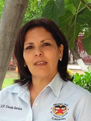 Claudia Barraza Berumen nueva directora del CADI Canatlán