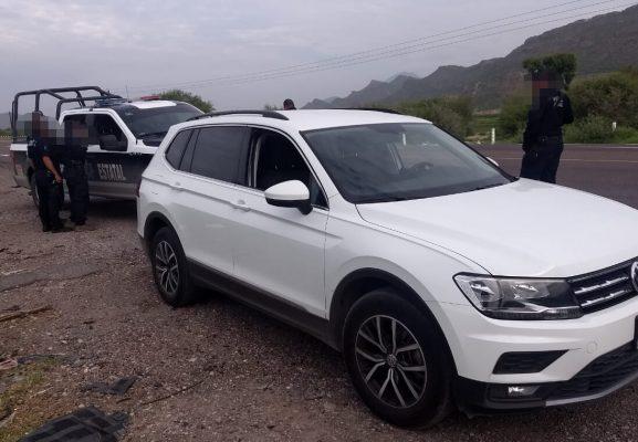 Recuperan en Lerdo camioneta robada en Torreón
