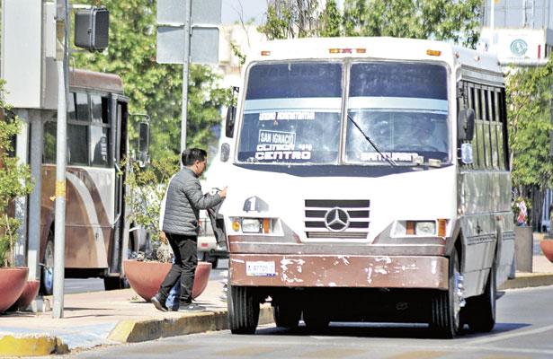 Rechazan ITD y UJEDalza al transporte
