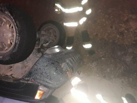 Vuelca camioneta en la Durango – Mazatlán