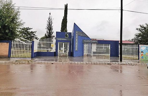 Niños se ausentan de clases, por las lluvias en Nuevo Ideal