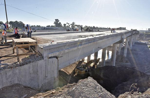 """Concluirán puente """"El Tajito"""" para finales de noviembre"""