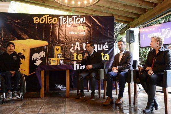 Arranca el Boteo Teletón 2018