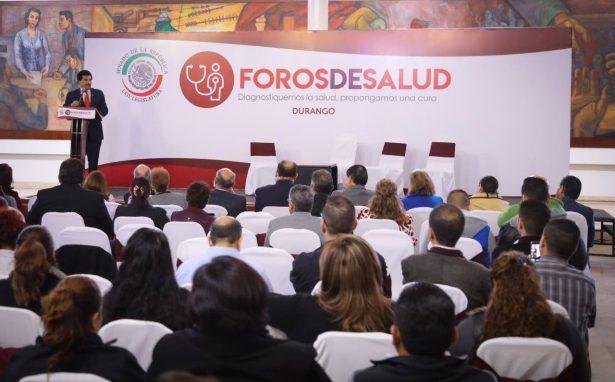 Participa Enríquez en foro de Salud en el Senado