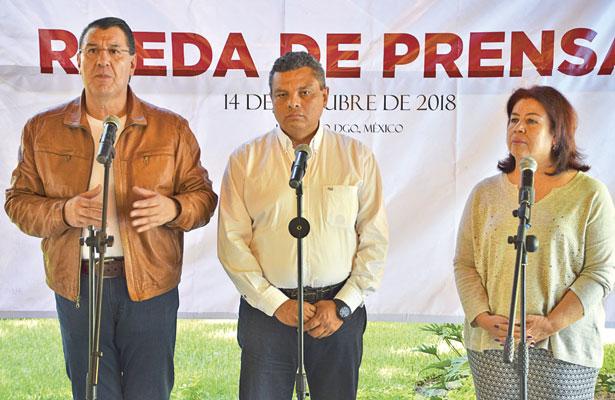 AMLO no le va a fallara Durango: Novelo Solís