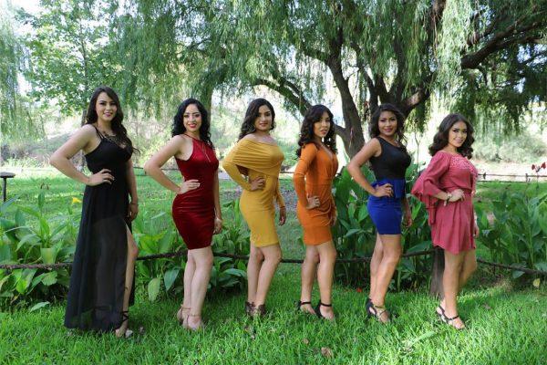 Este domingo será la presentación en traje típico de las candidatas a Reina de Rodeo 2018